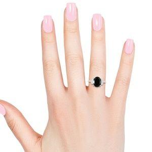 Jewelry - BLACK TOURMALINE STERLING RING